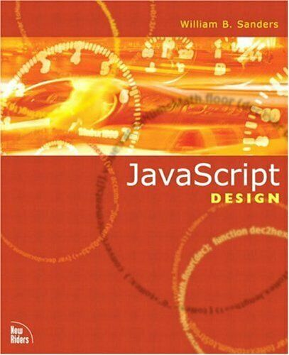 JAVASCRIPT DESIGN By Bill Sanders *Excellent Condition* |
