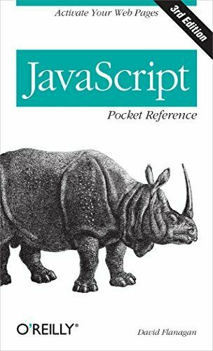 JAVASCRIPT POCKET REFERENCE: ACTIVATE YOUR WEB PAGES (POCKET By David VG |