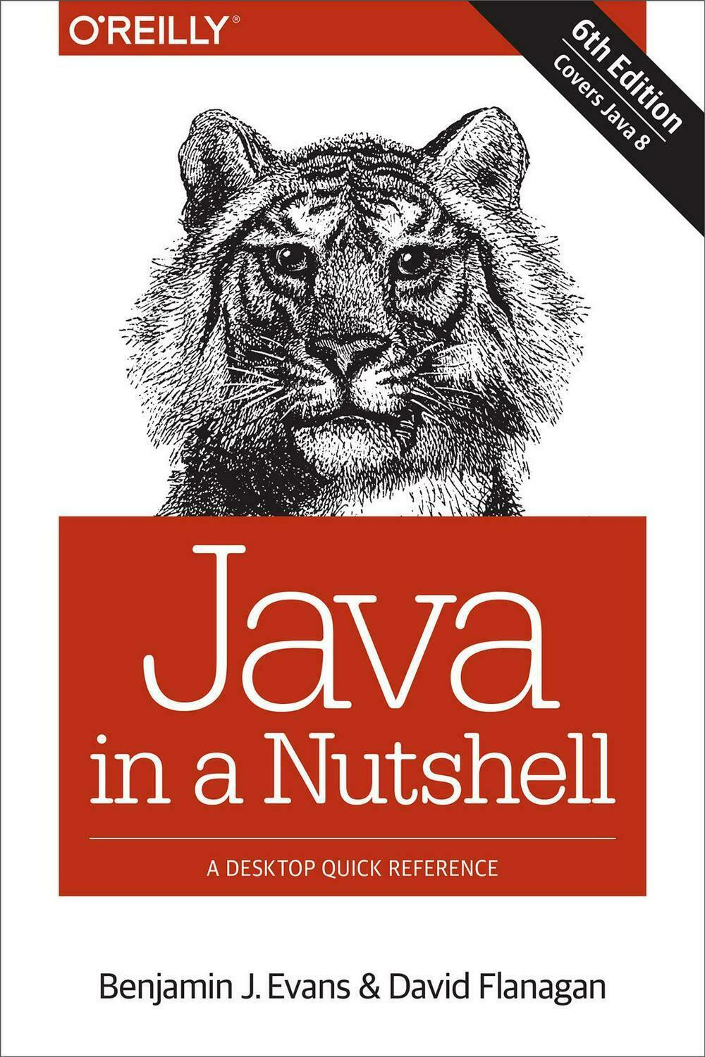 Java in a Nutshell by Benjamin J. Evans (English) Paperback Book Free Shipping! |