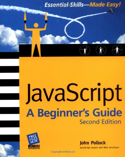 JavaScript: A Beginner's Guide, Second Edition by Pollock, John Paperback Book |