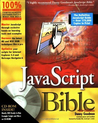 JavaScript Bible by Goodman, Danny Paperback Book The Fast Free Shipping |