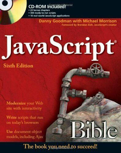 JavaScript Bible by Morrison, Michael Paperback Book The Fast Free Shipping |
