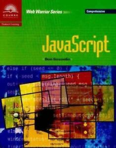 JavaScript – Comprehensive by Don Gosselin (2000, Perfect) |