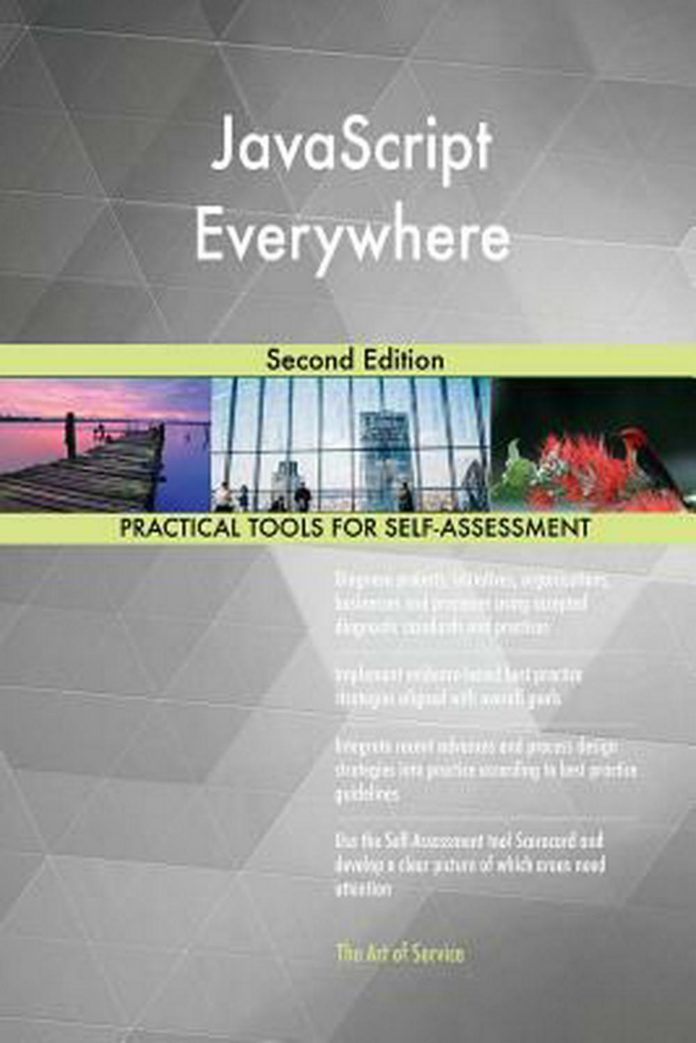 JavaScript Everywhere Second Edition by Gerardus Blokdyk Paperback Book Free Shi