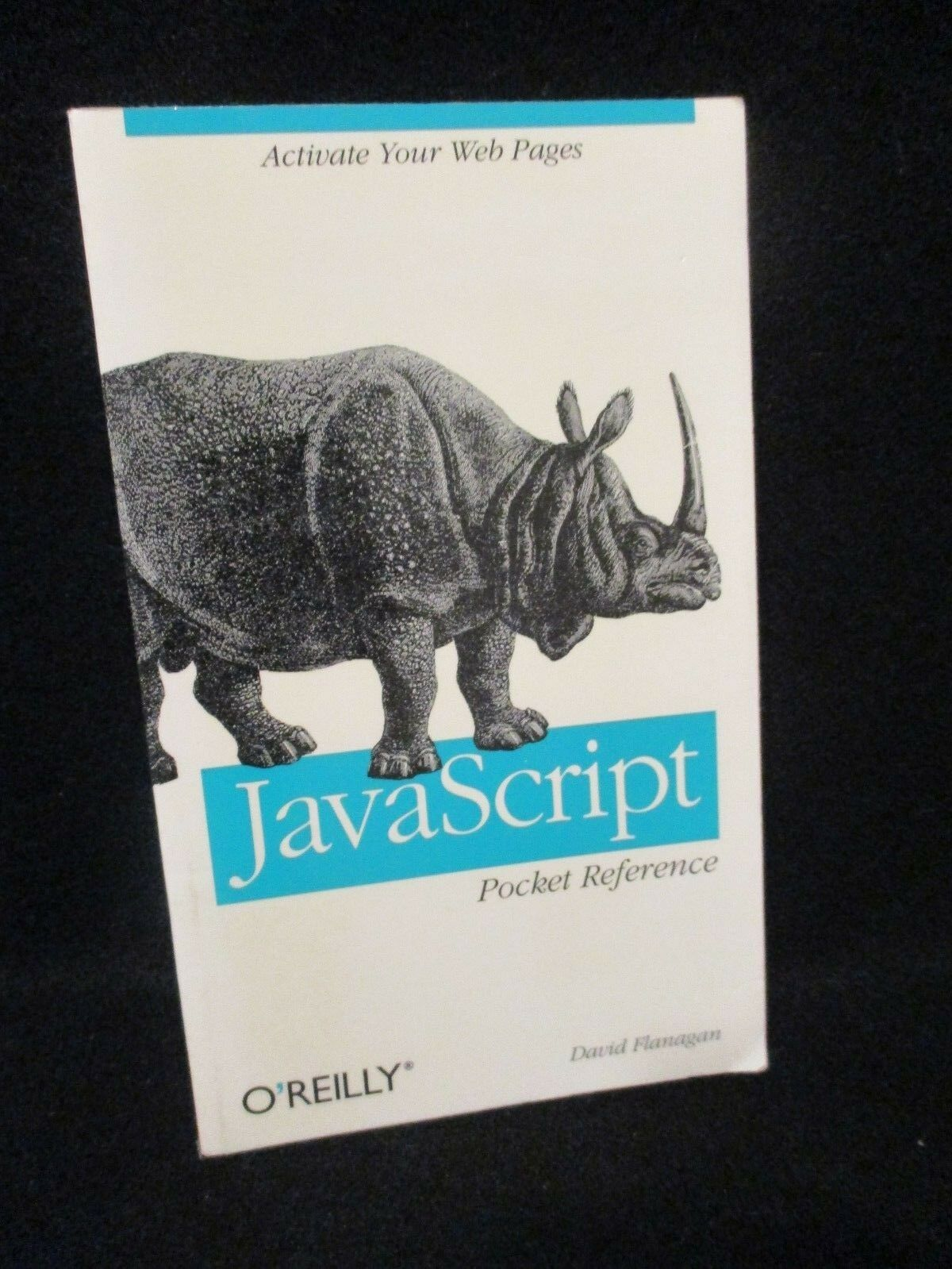 JavaScript Pocket Reference by David Flanagan 1998 1st Paperback 1.2 |