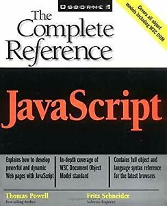 JavaScript : The Complete Reference by Powell, Thomas A. |