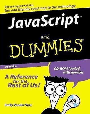 JavaScript for Dummies by Emily A. Vander Veer |