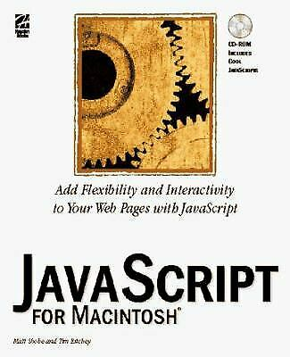 JavaScript for the Macintosh by Ritchey, Tim |