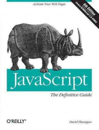 Javascript: The Definitive Guide, Paperback by Flanagan, David, Brand New, Fr… |
