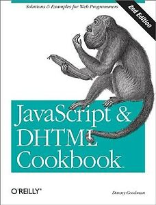 Javascript & Dhtml Cookbook, Paperback by Goodman, Danny, ISBN 0596514085, IS… |