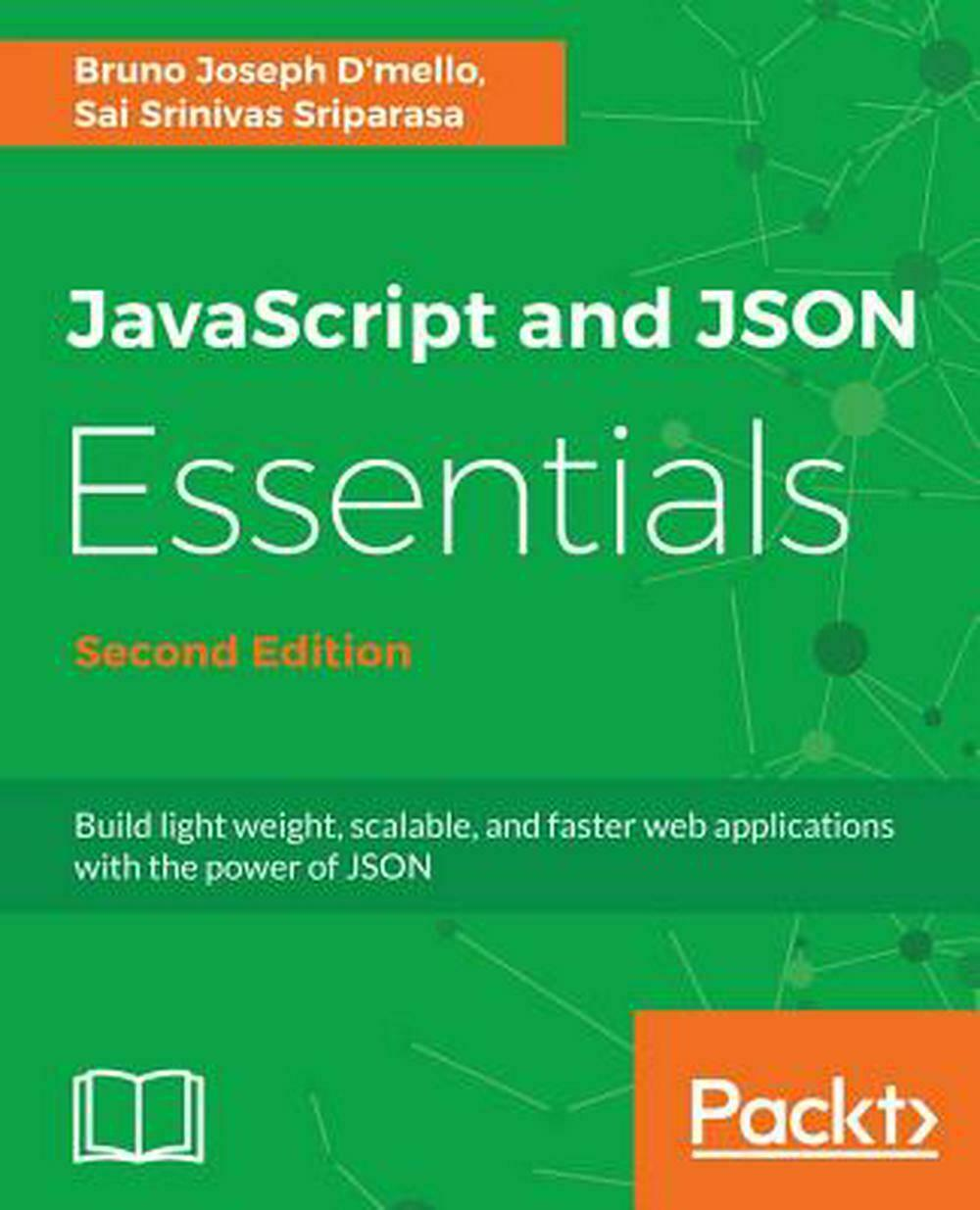 Javascript and Json Essentials by Sai S. Sriparasa Paperback Book Free Shipping! |