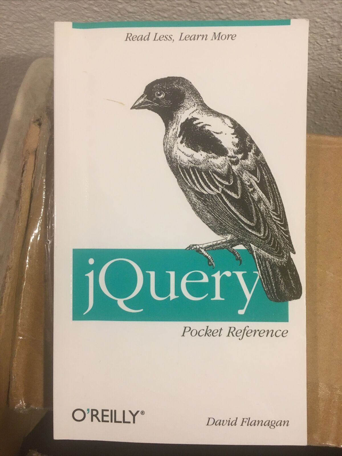 Jquery pocket reference javascript design manual |