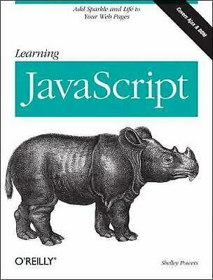 Learning JavaScript by Powers, Shelley-ExLibrary