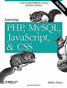 Learning PHP, MySQL, Javascript, and CSS : A Step-by-Step Guide to Cre-ExLibrary |
