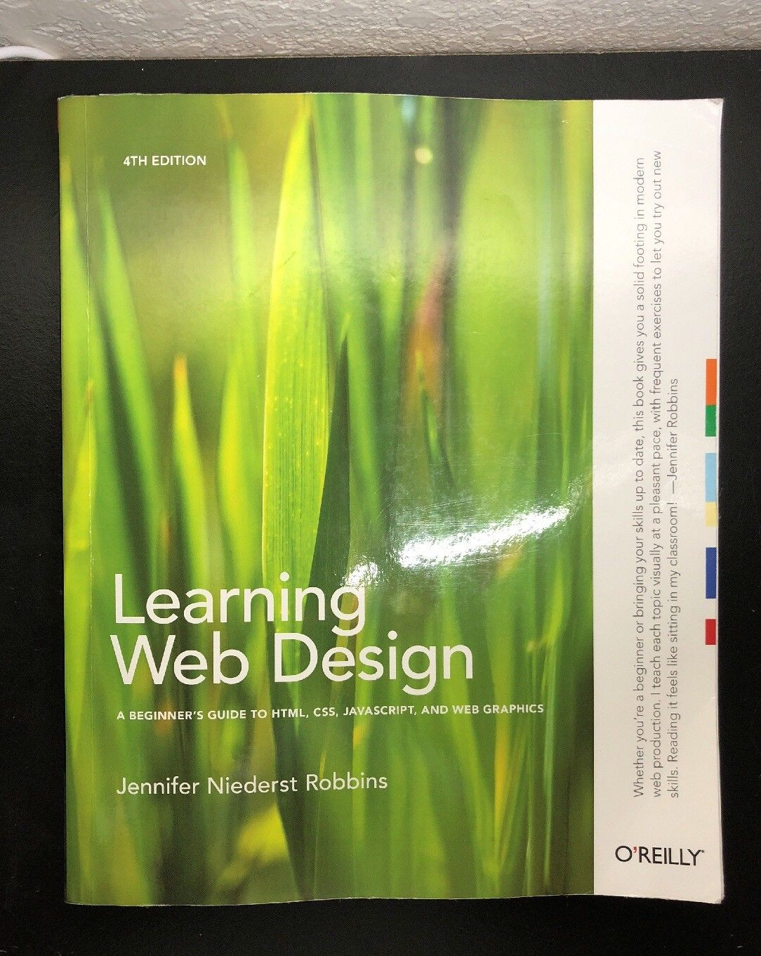 Learning Web Design: A Beginner's Guide to HTML, CSS, JavaScript, and Web Graphi |