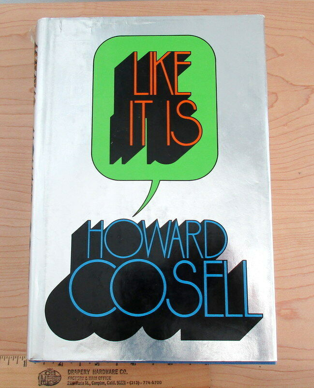 Like It Is by Howard Cosell (1974, Hardcover) |