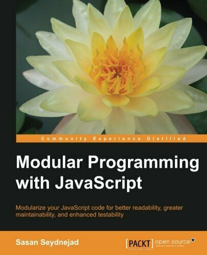 MODULAR PROGRAMMING WITH JAVASCRIPT By Sasan Seydnejad **Mint Condition** |