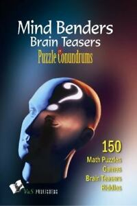 Mind Benders Brain Teasers & Puzzle Conundrums (Paperback or Softback) |