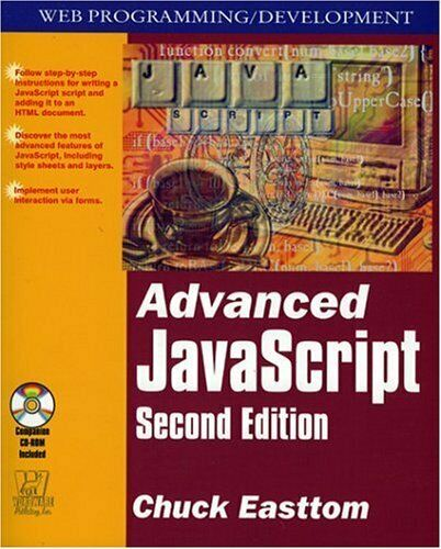NEW – Advanced Javascript, 2nd Edition by Easttom, Chuck |