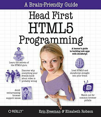 NEW – Head First HTML5 Programming: Building Web Apps with JavaScript |