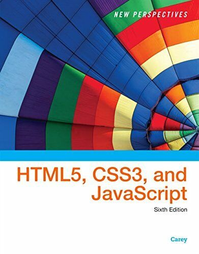 NEW PERSPECTIVES ON HTML5, CSS3, AND JAVASCRIPT By Patrick M. Carey **Mint** |