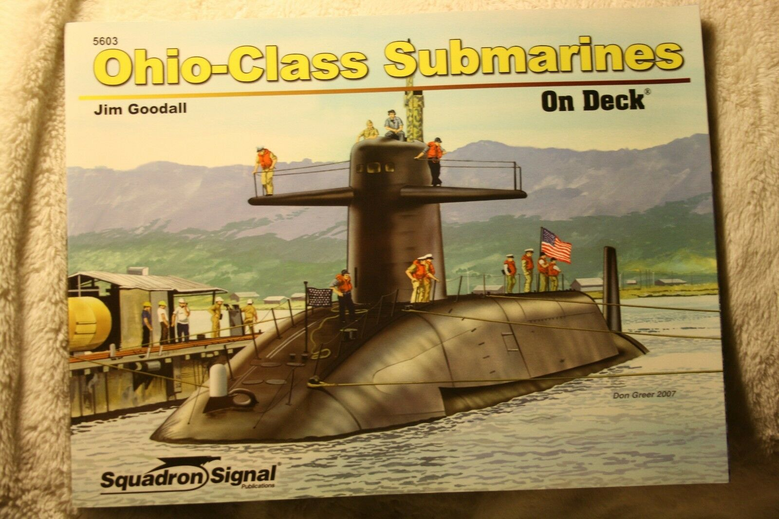 Ohio Class Submarines on Deck Squadron Signal Book #5603 Brand New |