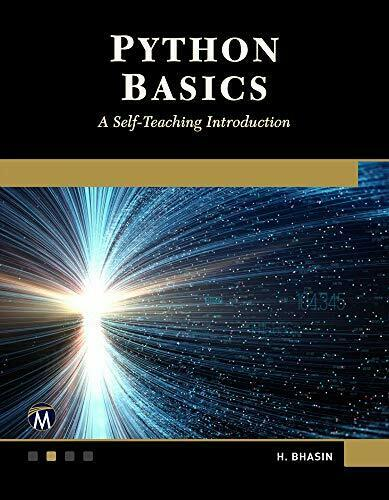 PYTHON BASICS: A SELF-TEACHING INTRODUCTION By H. Bhasin **Mint Condition** |
