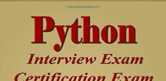 PYTHON: INTERVIEW EXAM, CERTIFICATION EXAM, 100 QUESTIONS & By Ray Yao BRAND NEW