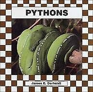PYTHONS (SNAKES) (CHECKERBOARD BOOD) By James E. Gerholdt *Excellent Condition* |
