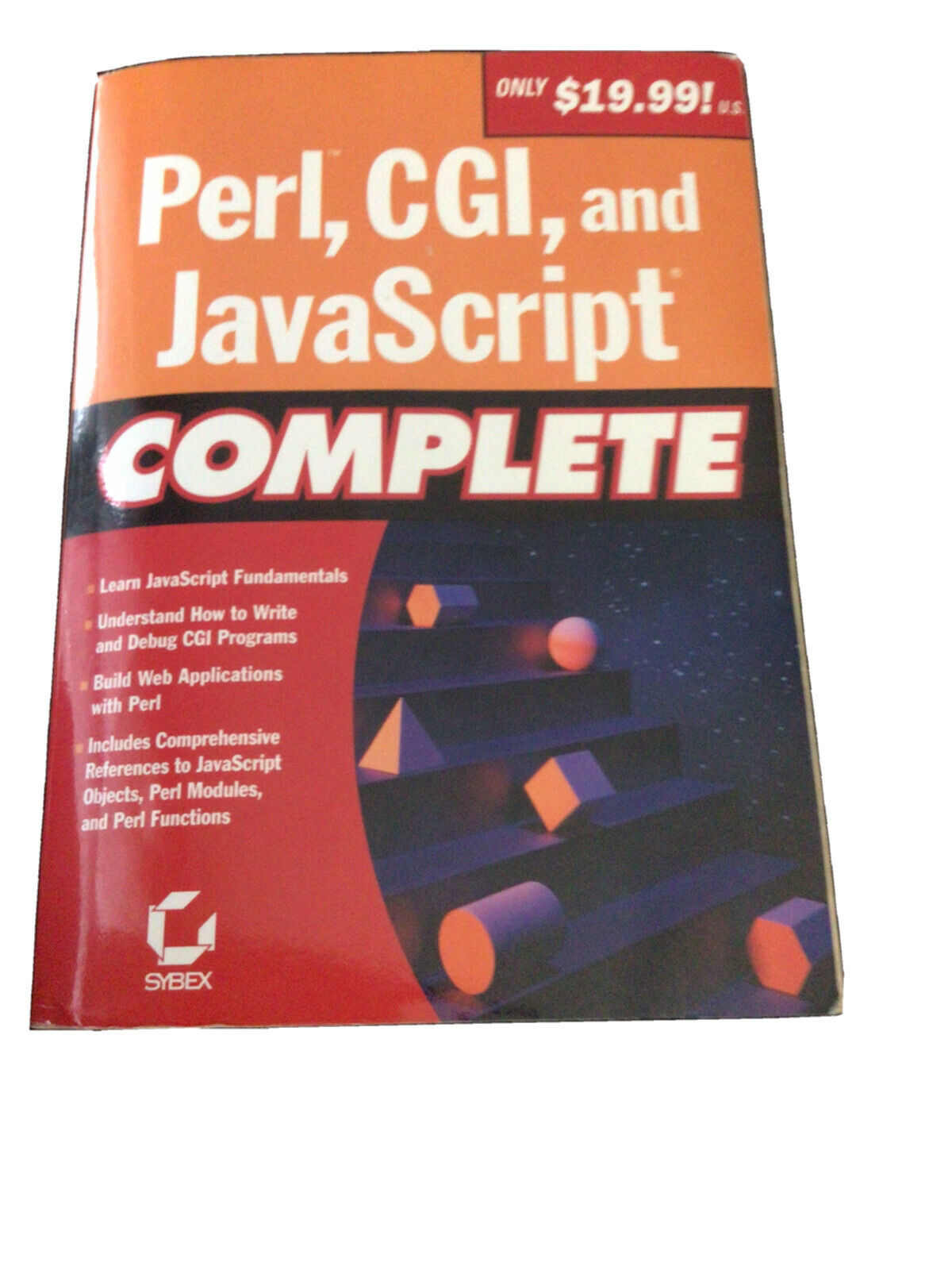 Perl, CGI, and JavaScript Complete by Sybex Inc.  