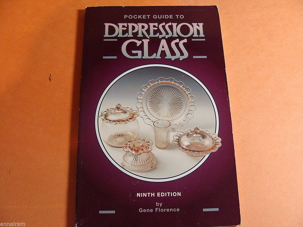 Pocket Guide to Depression Glass by Gene Florence (1994, Paperback, 9th edition) |