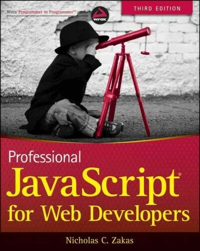 Professional JavaScript for Web Developers, Paperback by Zakas, Nicholas C., ...