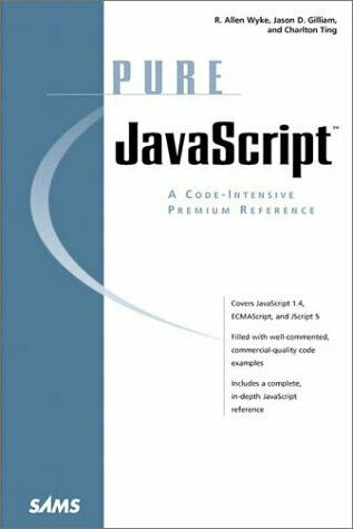 Pure JavaScript by Gilliam, Jason D. |