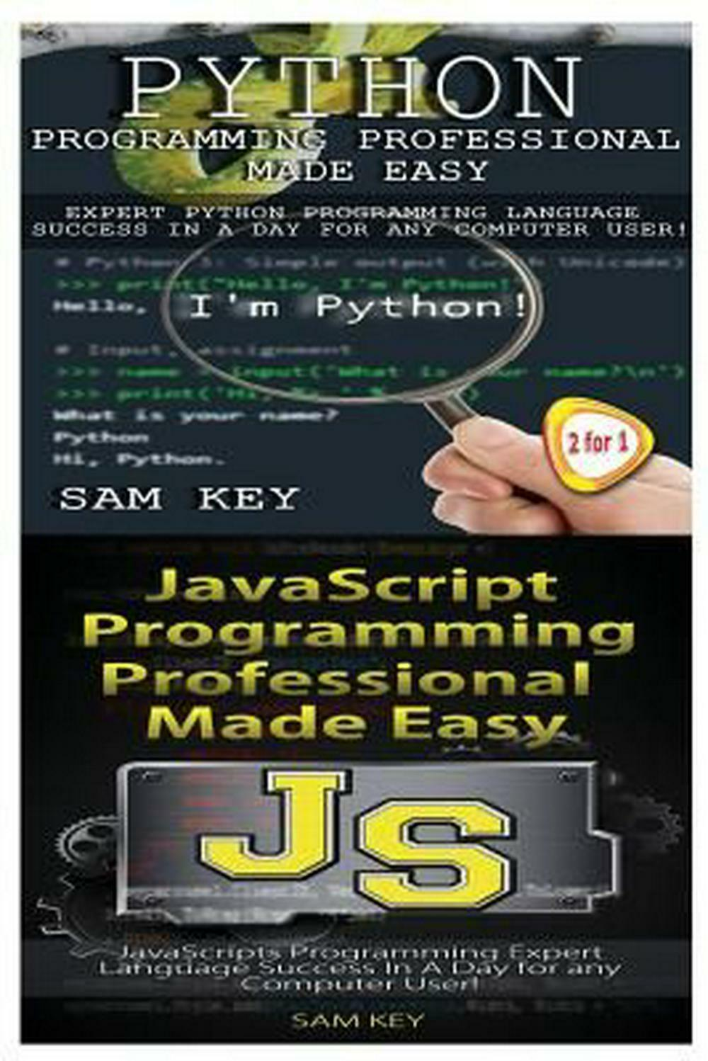 Python Programming Professional Made Easy & JavaScript Professional Programming |