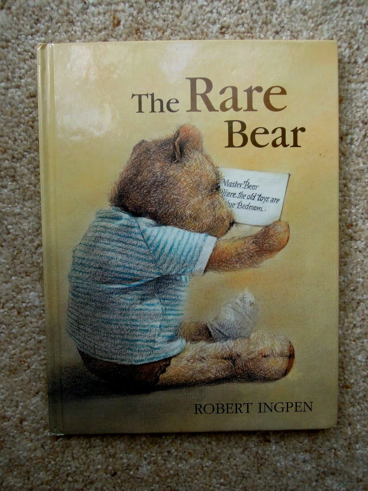 ROBERT INGPEN – The Rare Bear – First Edition H/c 2004 – LIKE NEW |