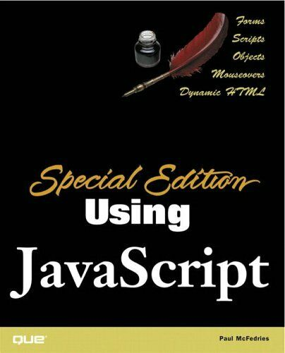 SPECIAL EDITION USING JAVASCRIPT By Paul Mcfedries **Mint Condition** |