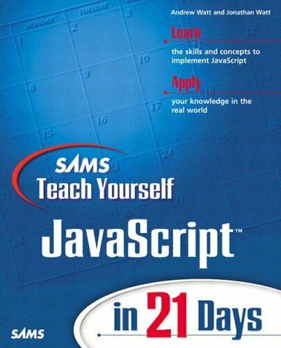 Sams Teach Yourself JavaScript in 21 Days by Simon, Jinjer Paperback Book The  