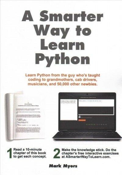 Smarter Way to Learn Python, Paperback by Myers, Mark, Like New Used, Free sh… |