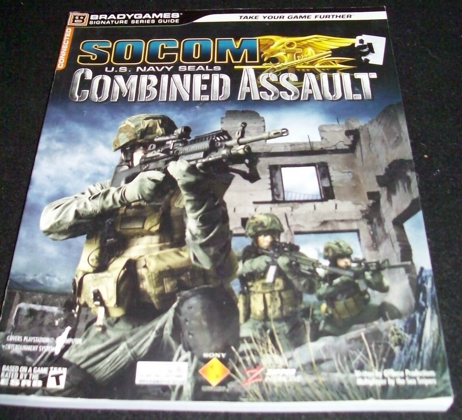 Socom U.S. Navy Seals Combined Assault by Bradygames 2006, Paperback PS 2 Cheat |