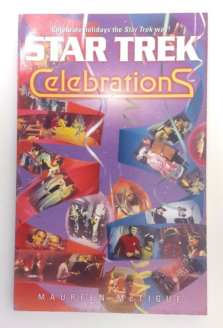 Star Trek: Celebrations Softcover Book by Maureen McTigue (2001, Paperback) |