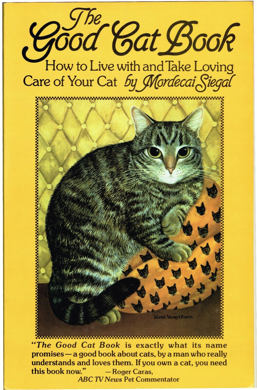 THE GOOD CAT BOOK by MORDECAI SIEGAL 1982( PAPERBACK,BRAND NEW FACTORY SEALED) |