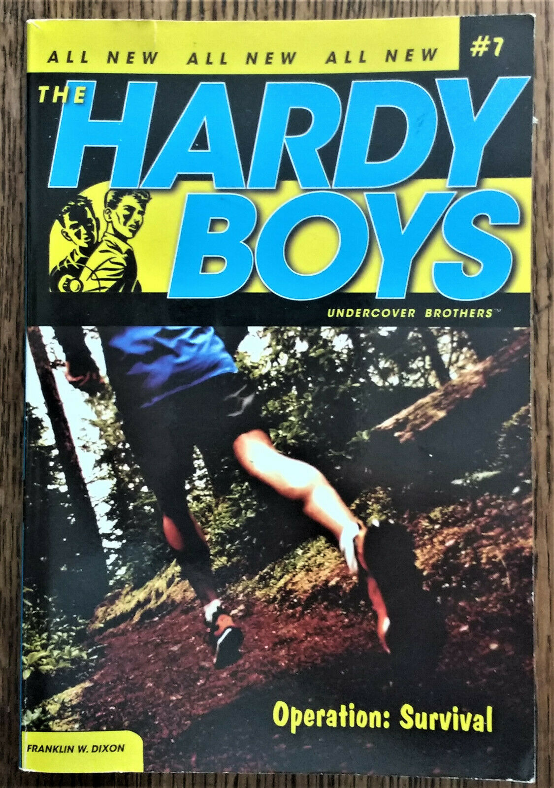 THE HARDY BOYS UNDERCOVER BROTHERS SERIES pb  Bk 7 OPERATION: SURVIVAL YA |