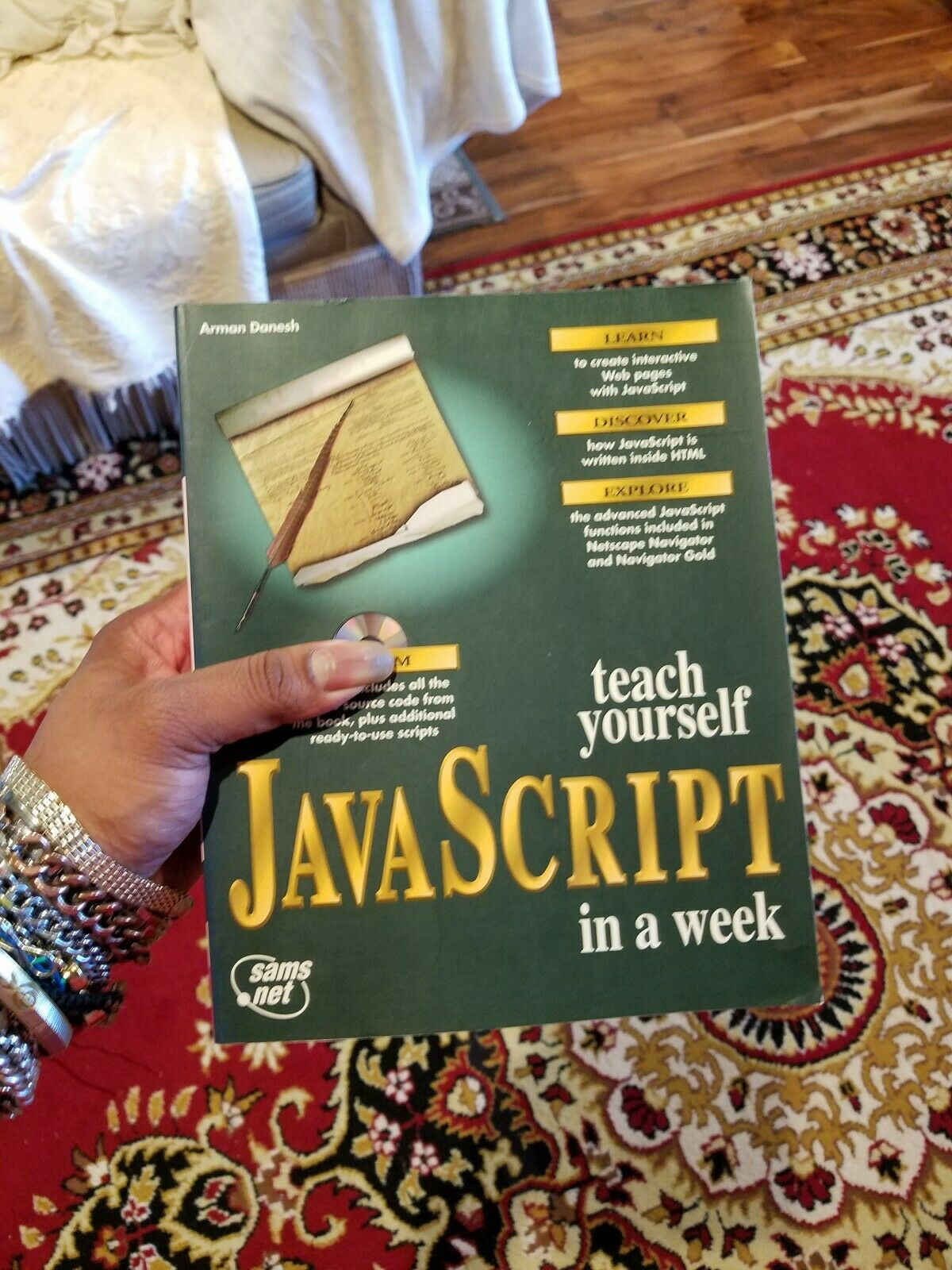Teach Yourself Java Script In A Week By Arman Danesh |
