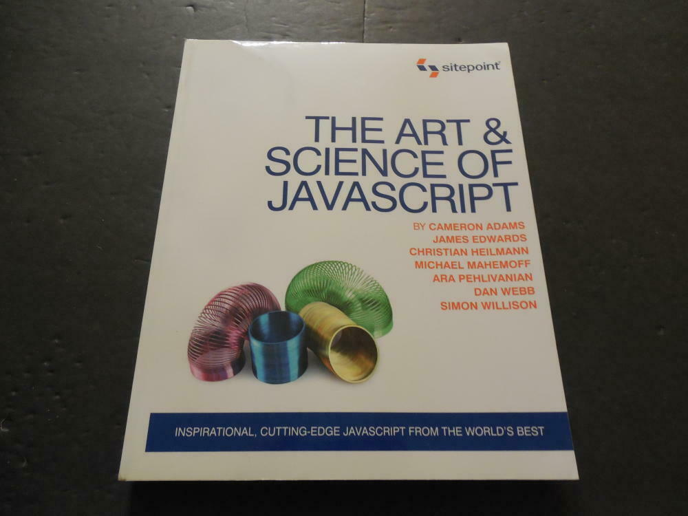 The Art & Science of Java Script -Sitepoint 2007 SC                ID:26337 |