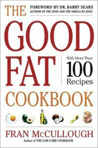 The Good Fat Cookbook by Barry Sears, Fran McCulloug…  A4 |