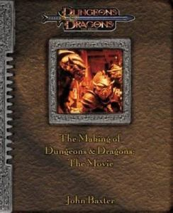 The Making of the Dungeons & Dragons The Movie- Book |