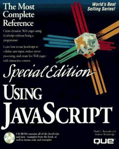 Using Javascript by Gordon McComb (1996, CD-ROM / Paperback, Special) |