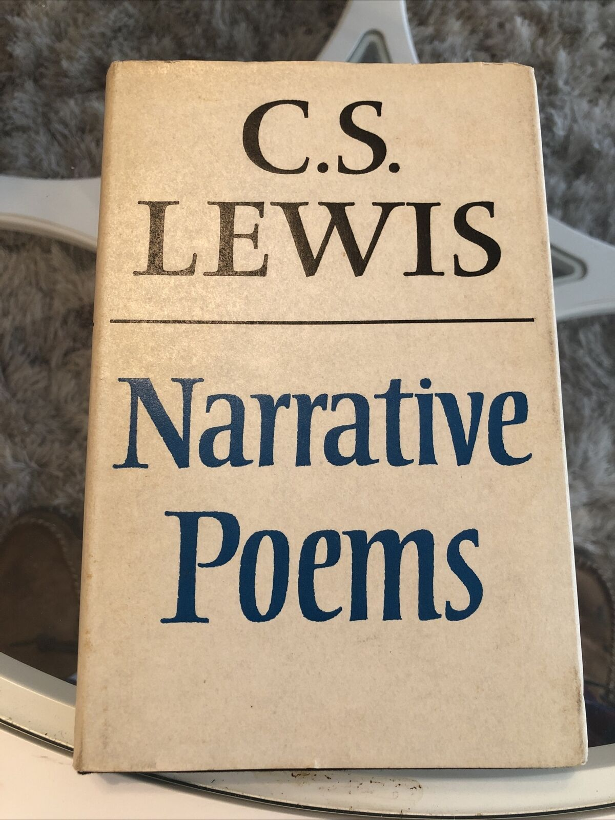 *VERY RARE* UK First Edition C. S. Lewis Narrative Poems Bright in ADJ VG+/VG+ |