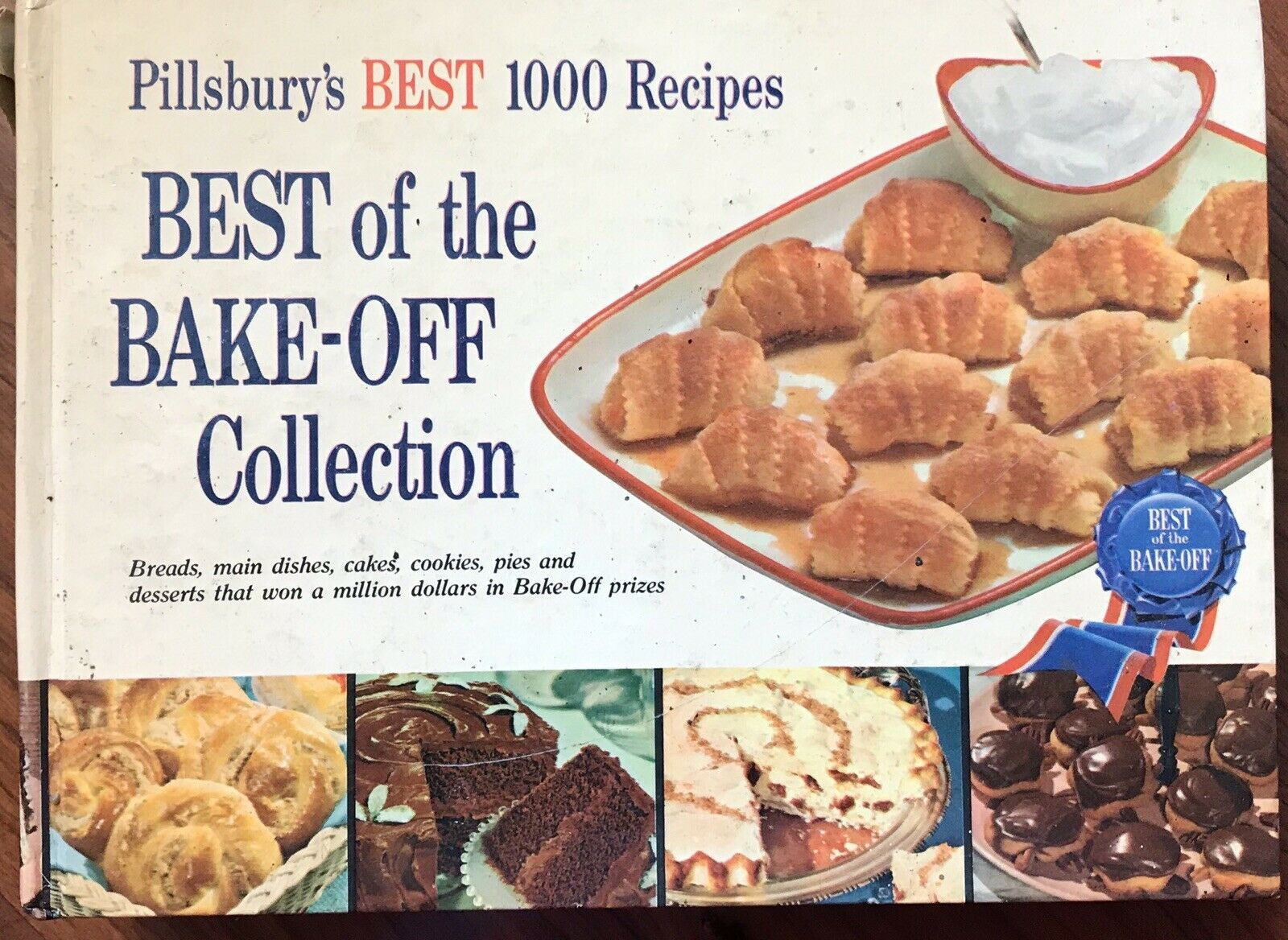 VINTAGE 1959 FIRST EDITION PILLSBURY BEST OF THE BAKE OFF COLLECTION COOKBOOK |