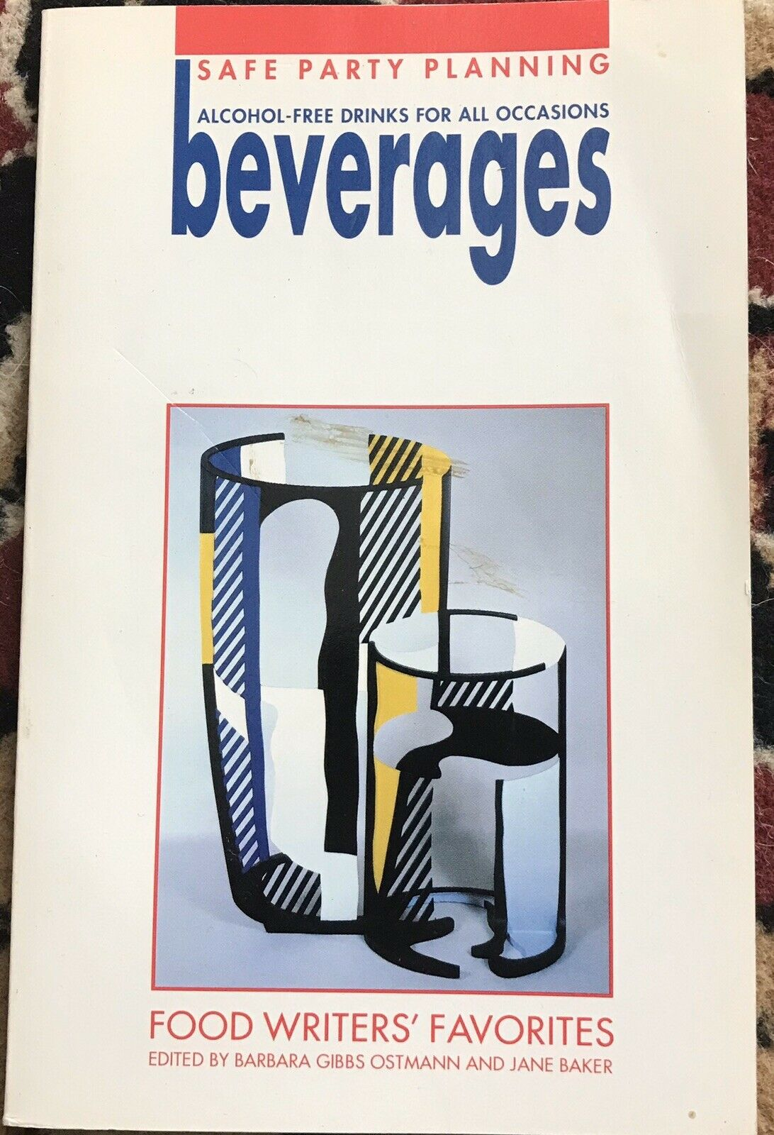 VINTAGE 1992 BEVERAGES COOKBOOK ALCOHOL FREE DRINKS FOOD WRITERS' FAVORITES |